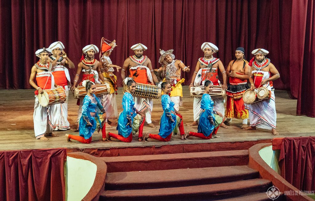 The Kandy Lake Club Cultural Dance Show in Sri Lanka