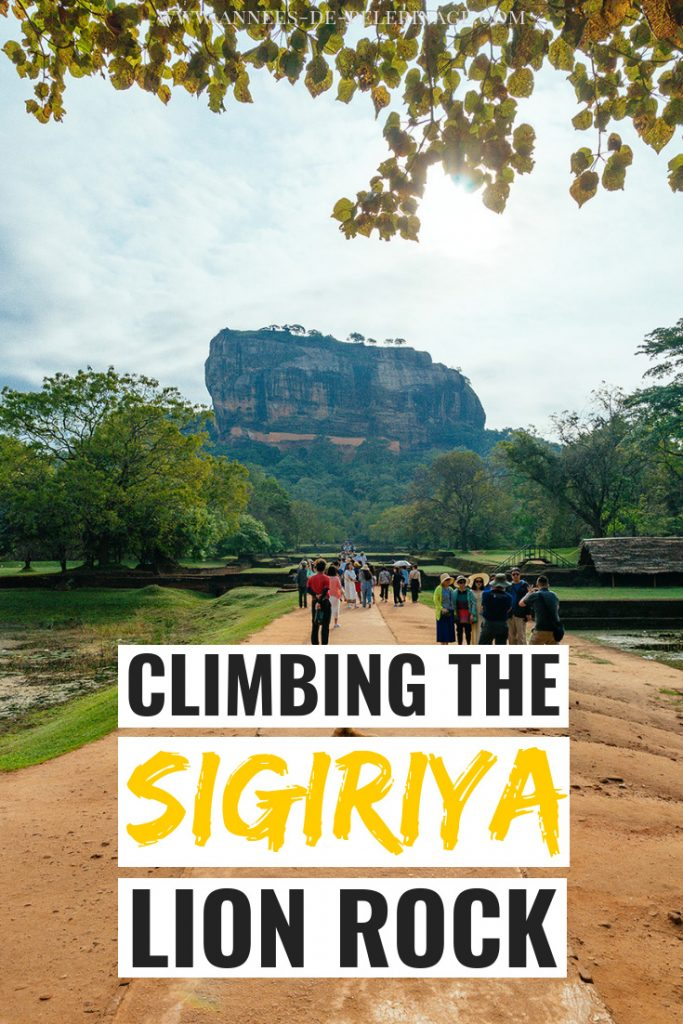 Climbing Sigiriya - Everything you need to know about visiting Sri Lanka's amazing UNESCO World Heritage site. The so-called eights wonder of the world is a must visit and rightfully belongs in every Sri Lanka itinerary. Click to find out what to expect.