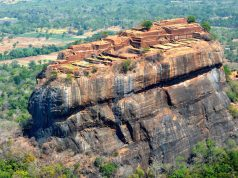 Climing Sigiriya Lion Rock - it can looka bit impossible from above, but there's 1200 stairs leading you all to the top, where a spawling palace is found. It dates back to the 5th century and has been name the 8th Wonder of the World. More Sigiriya photos on the blog