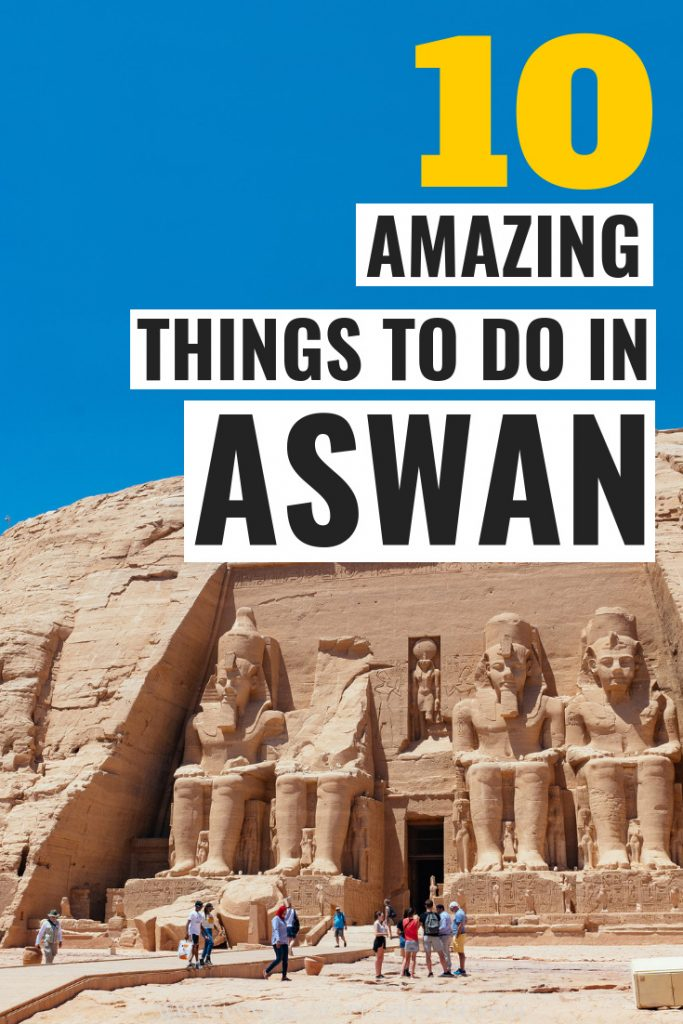The 10 best things to do in Aswan, Egypt. This is a detailed Aswan travel guide with the top tourist attractions and landsmark in Aswan. Plan your perfect Egypt itinerary.  #travel #egypt #culturetravel #travelguide #africa
