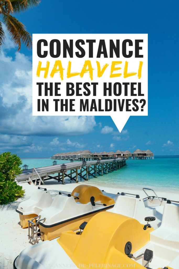Constance Halaveli review - is it the best resort in the Maldives? A detailed look at the beautiful overwater bungalows and beach villas of the Constance Halaveli luxury hotel in the Maldives, North Ari Atoll.  #luxurytravel #luxury #travel #hotel