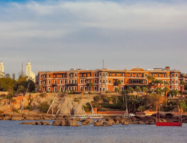 The Old Cataract hotel - the best hotel in Aswan and the most famous hotel in Egypt.