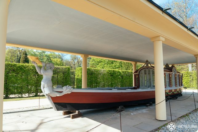 The Triton Pleasure Barge in Pillnitz castle, Dresden