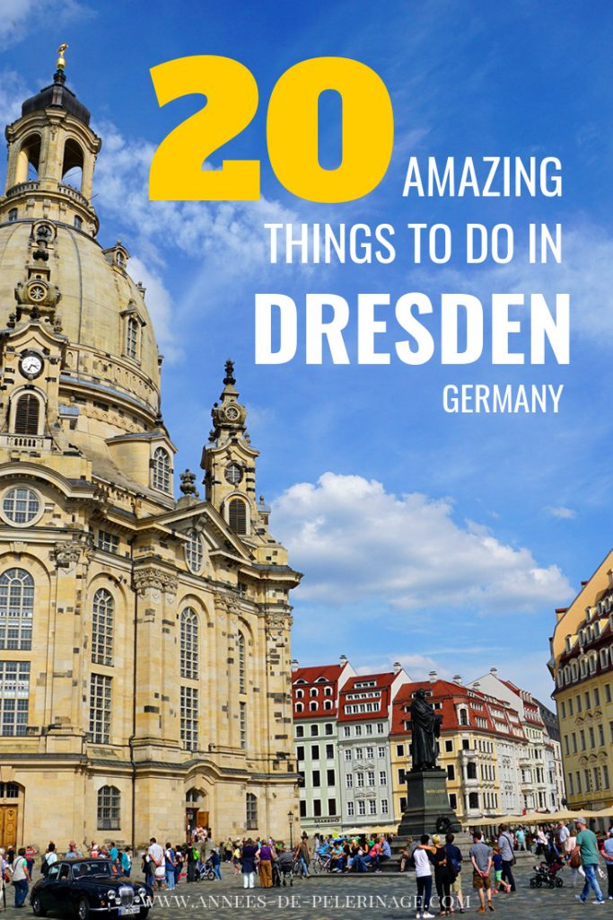 The 20 best things to do in Dresden. A list of all the tourist attractions and must-sees in Dresden. Photography and information on Saxony's capital. Germany travel at its best. Click for more. #travel #german #culturetravel #travelguide #traveltips