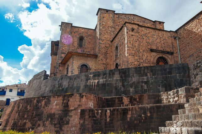 Qurikancha and the Convent of Santo Domingo Cusco Peru, once the temple of the sun