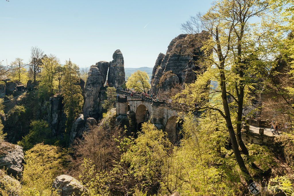 Another view of the Bastei bridge