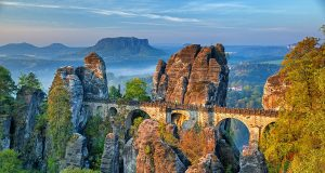 How to visit the Bastei Bridge on a day trip from Dresden, Germany - everything you need to know to plan your hiking tour to Saxon Switzerland