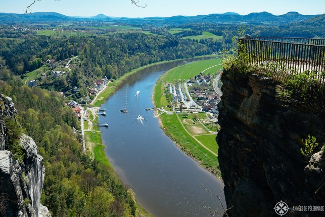 The Ferry Neurathen in Saxon Switzerland, near Dresden