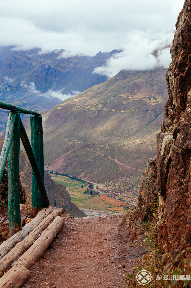 Views of the Sacred Valley of the Incas from Pisac ruins