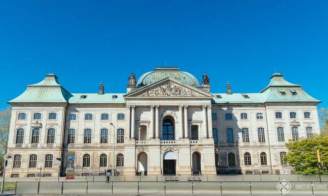 The Museum of Ethnology in the Japanese Palais in Dresden, Germany