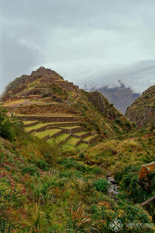 The main archeological site in Pisac  Q'alla Qasa