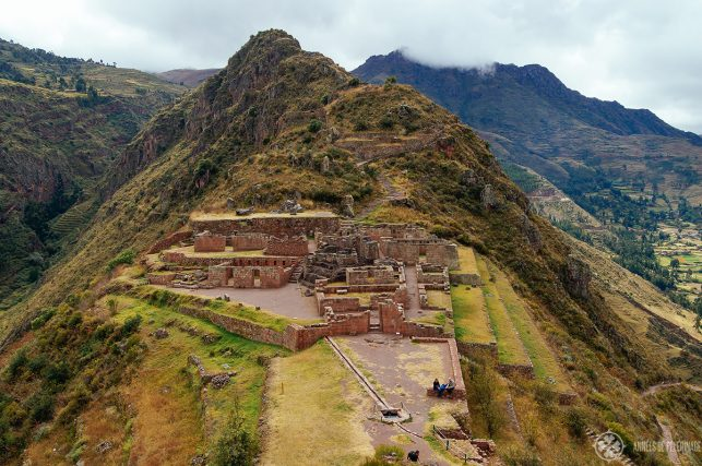 The temple district of Pisac, Peru