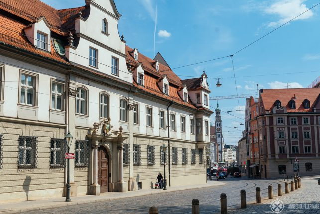 Augsburg old town