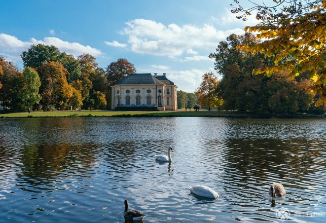 The Badenburg inside the park of Nymphenburg palace