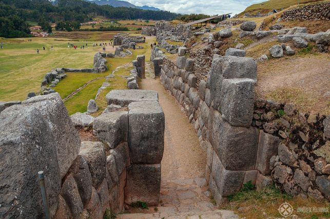 Another, smaller gate, on the second tier Of Sacsayhuaman in Cusco, Peru