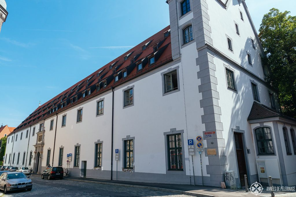 The Holy-Ghost-Hospital where the Augsburger Puppenkiste performs daily