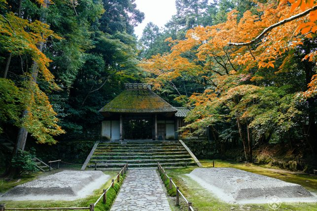 The secret garden at Honen-in temple - just one of many places you'll probably only discover with a good Japan travel book