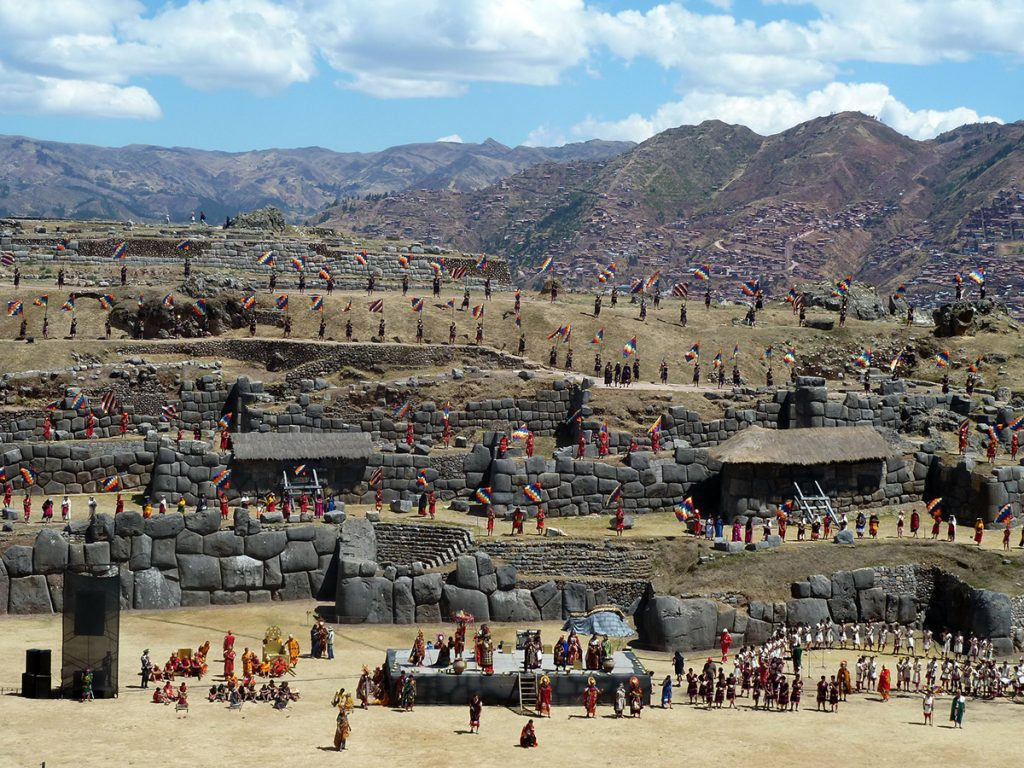 The Inti Rayimi festival on the solstice festival in Cusco