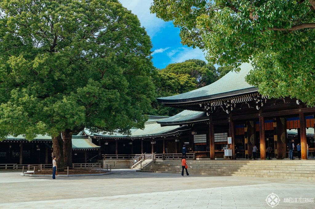 Meiji Shrine near Harajuku station