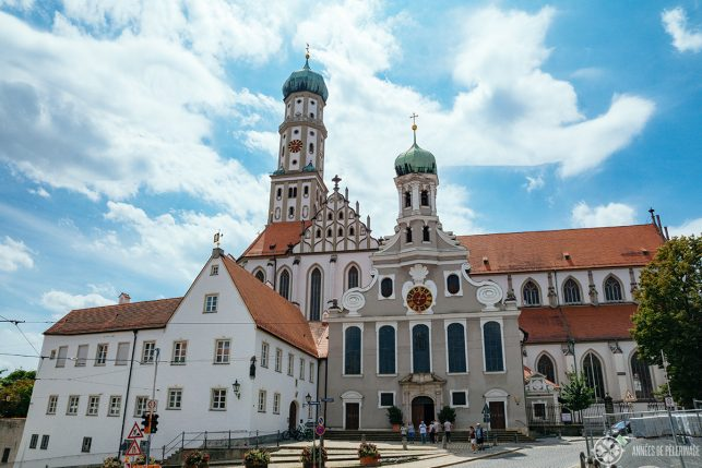 St. Ulrich and Afra cathedral in Augsburg - one of the best places to visit in Augsburg