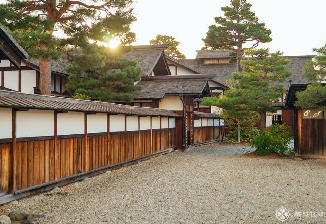 An authentic Samurai mansion in Takayama, Japan