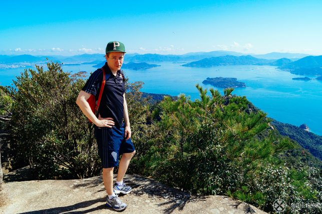 Hiking Mout Misen on Miyajima - you really should pack comfortable walking shoes for Japan