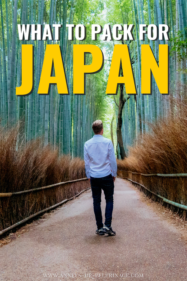 What to pack for Japan - my ultimate packing list
