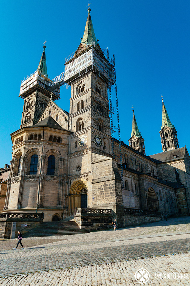 Bamberg Cathedral (still undergoing renovation works in 2019)