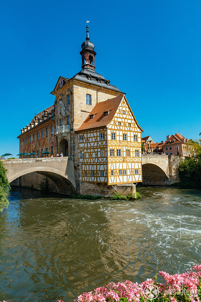 Another picture of the wonderful old town hall of Bamberg - a UNESCO world hertiage site