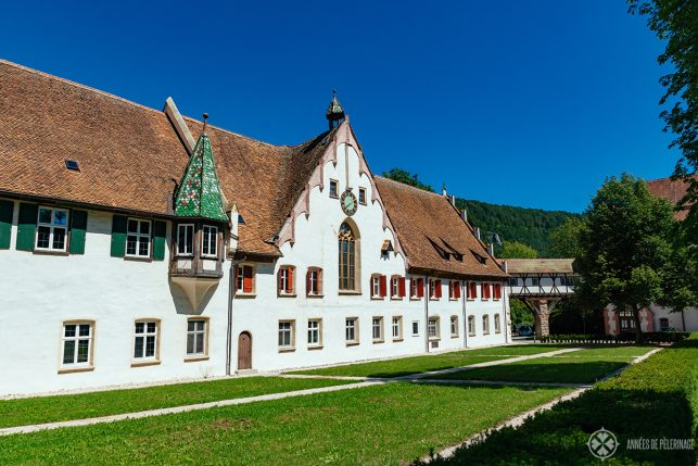 Main building of Blaubeuren Abbey, Germany