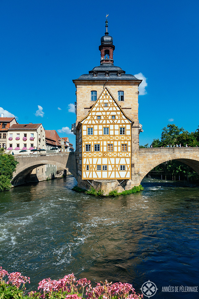 Bamberg's old town hall (Alte Rathaus)