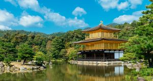 The golden temple Kinkakuji is one of the top Japan highlights and one of the best places to visit in the country