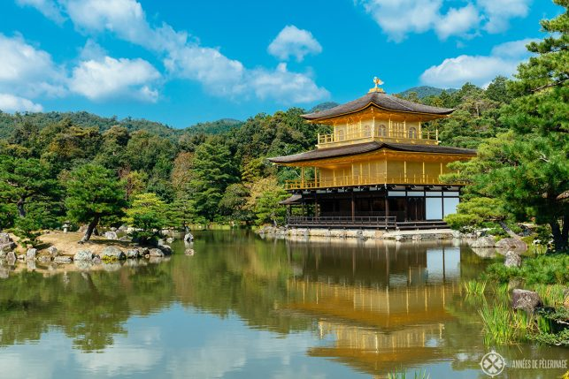 The golden Kinaku-ji temple in Kyoto - the top highlight in Japan
