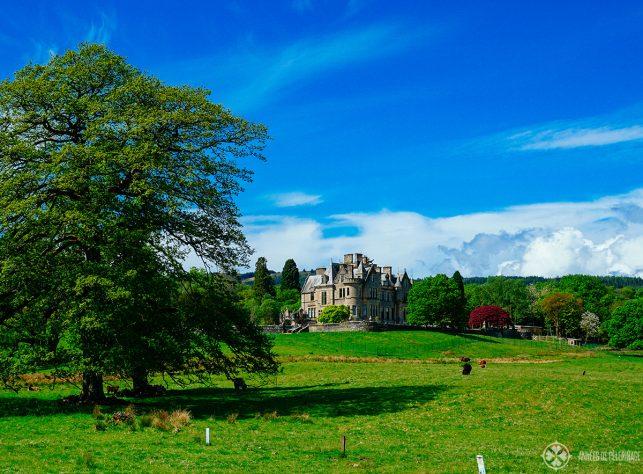 A private mansion in Scotland