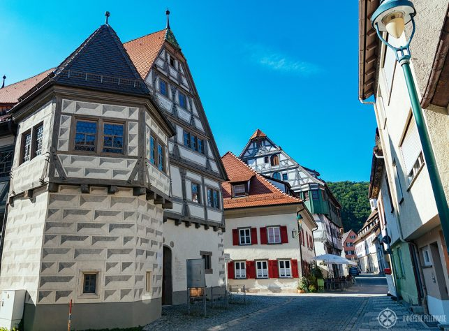 The old town of Blaubeuren only a short day trip from Munich away