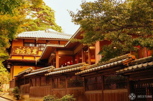 A traditional Ryokan on Miyajima