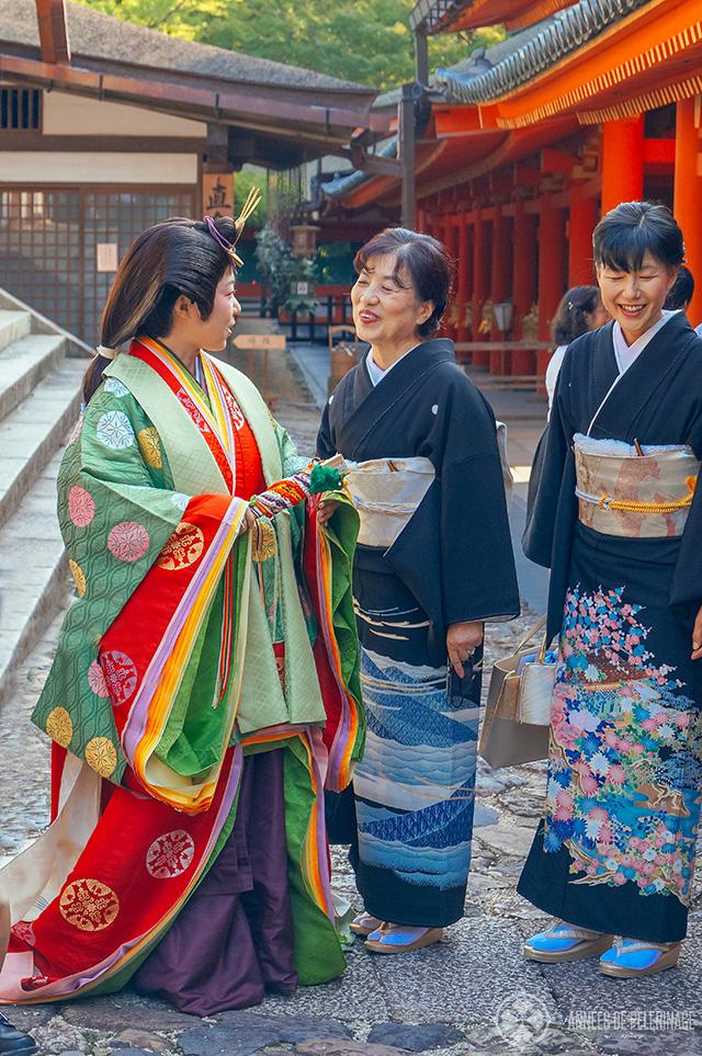 wedding at Kasuga Taisha of a member of the Fujiwara family?