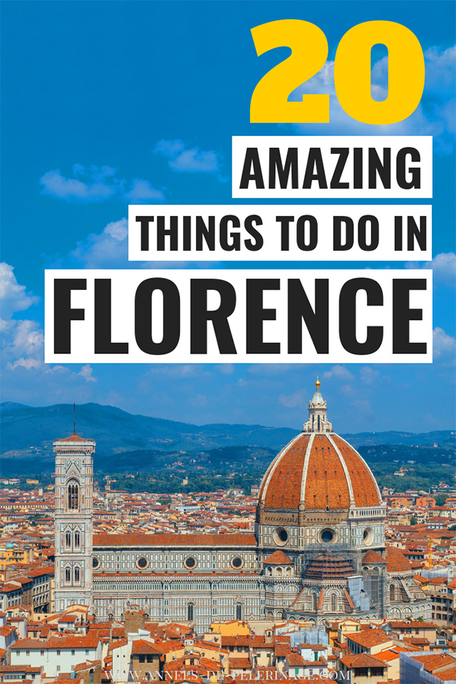 The best things to do in Florence, Italy. A detailed Florence travel guide - where to stay, when to visit and what to see in Florence. The capital of Tuscany has so many tourist attractions and is a must-visit on any Italy Itinerary. Click to find out about the best places to visit in Florence.  #travel #italy #traveltips #travelguide #europe