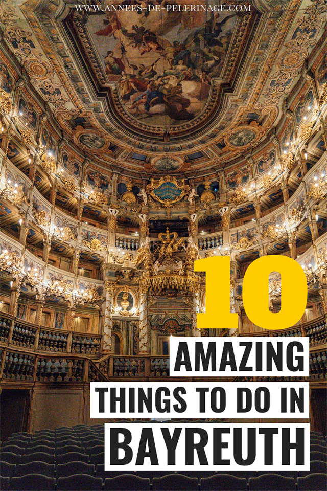 The best things to do in Bayreuth Germany. A detailed Bayreuth travel guide with all the tourist attractions in beautiful city in Bavaria.
