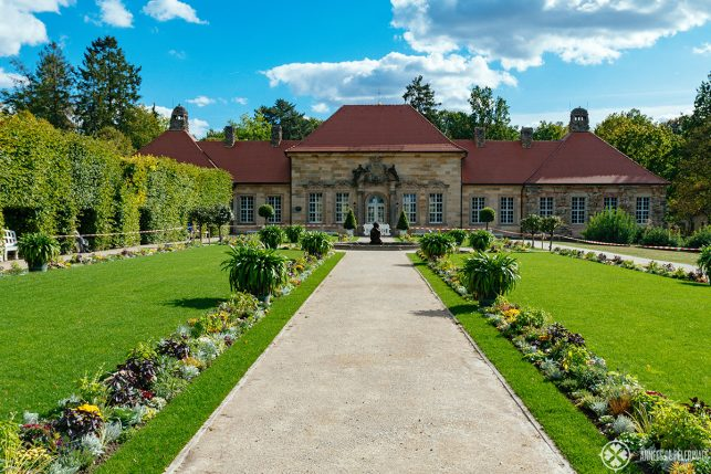 "The so-called ""Old Palace"" at the Eremitage in Bayreuth"