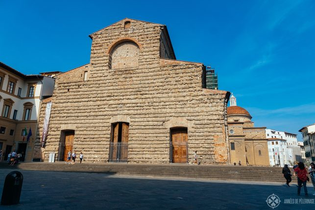 The Basilica di San lorenzo - one of the best places to visit in Florence