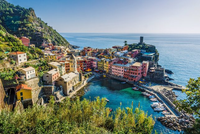 Vernazza in Cinque Terre - a must-stop on your Italy itinerary