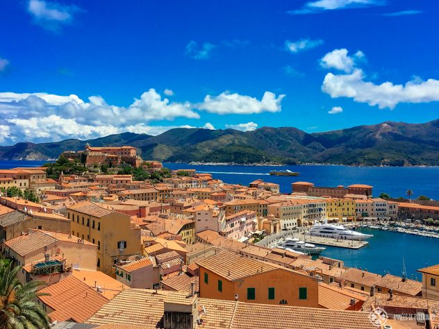 View of Portoferraio on Elba