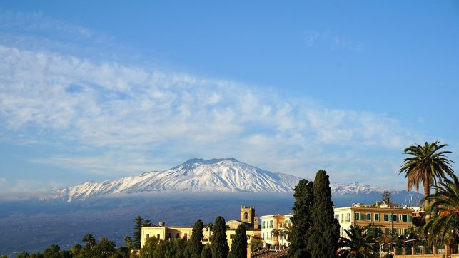 Mount Etna on Sicily