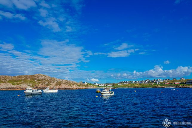 A quaint little harbor in May - probably the best time to visit the Isle of Skye