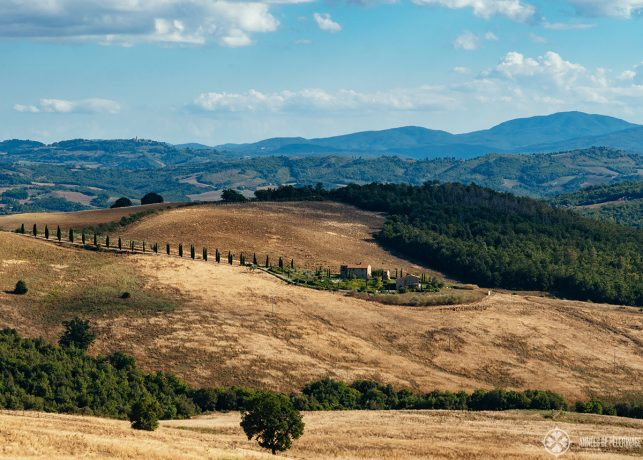 More of that landscape perfection in Tuscany's Val d'Orcia region