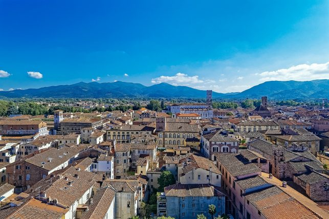 The oldtown of Lucca
