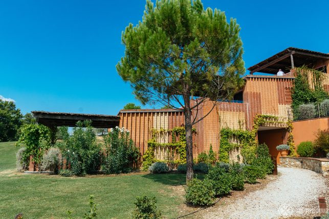 The Oliveto suites further down the hill of Belmond Castelo di Casole