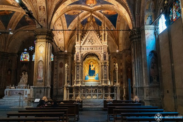The  Orsanmichele altar in florence.