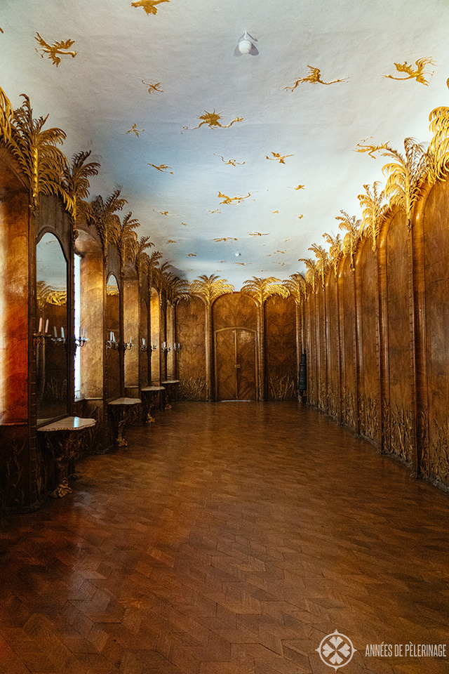 "The famous ""Palm Room"" - the oldest freemason chapter room in Germany"